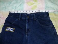 NWT Sz 10 Boys Wrangler Rustler Relaxed Shorts Blue Jeans Size 10