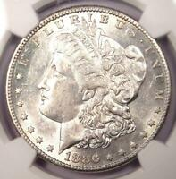 1886-S Morgan Silver Dollar $1 - Certified NGC AU58 - Rare Date - Near MS UNC!