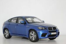 Kyosho BMW X6M E70 Montecarlo Blue 80432157614 1:18 Dealer Edition