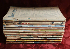 Readers Digest Reading Copy Lot 1943 issues