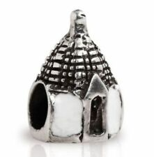 TEDORA TRULLO PUGLIA 925 SILVER BEAD FIT EUROPEAN BEADS S 105