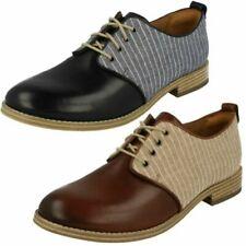 Ladies Clarks Smart Lace Up Shoes 'Zyris Toledo'