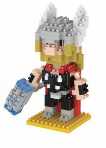 Thor Superhero LOZ Style 289pc Nano Brick Mini Building Block Puzzle Toy UK