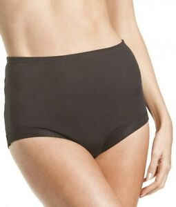 BONDS - COTTONTAILS FULL BRIEF WITH LYCRA Black Sz 18-26 NEW  FREE POSTAGE
