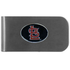 MLB St. Louis Cardinals Bottle Opener Money Clip Metal Cash Holder Emblem