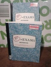 F In Exams Notebook lot of two notebooks FREE SHIPPING