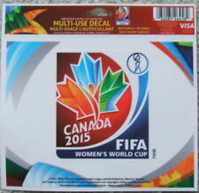 Women's World Cup soccer Canada 2015 decal (tournament logo)