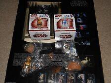 MEDICOM STAR WARS KUBRICK DX SERIES 1 R2-D2, C-3PO & SALACIOUS CRUMB