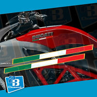 Fit For Ducati Diavel & Ducati Diavel Carbon Tricolore Decal Sticker Pair Side