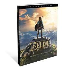 Guide Officiel Zelda Breath of the Wild Version Française Nintendo Switch Wii U