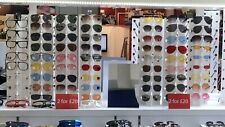 14 sunglasses display stand Holding Total Of 126 Sunglasses. Acrylic.