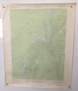 Bethel NY Highland Lake New York Sullivan County White Lake 1967 USGS Topo Map