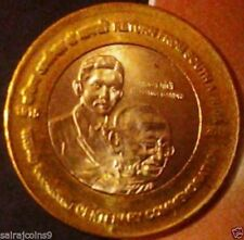 10 RUPEES 2015 RETURN OF MAHATMA GANDHI FROM AFRICA 1916-2015 UNC COIN FREE S/H