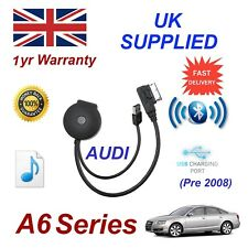 For AUDI A6 Bluetooth & USB Cable With Aux USB + Power adapter charging gen 08