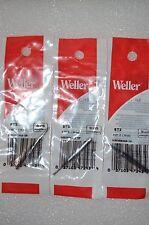 3x Original Weller ST2 3/32  Screwdriver tip for WP25, WP30, WP35, WLC100
