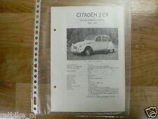 C6-CITROEN TYPE 2 CV SEDANS EN BESTELWAGENS 1964-1967 -