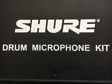 SHURE Drum Microphone Kit SM57 PG81 PG56