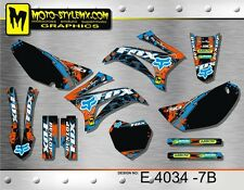 Yamaha TTR 125 2008 up to 2016 graphics decals kit Moto StyleMX