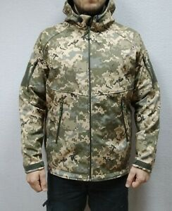 Soft Shell GEN III LEVEL 5 Ukrainian army Digital Camo MM14 Pixel Uniform
