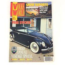 VOLKSWORLD - Avon Croft - October 1992 VW Volkswagen Beetle Magazine