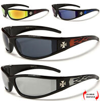 NEW CHOPPERS MEN WOMEN WRAP SPORT MOTORCYCLING BIKERS RIDING DRIVING SUNGLASSES