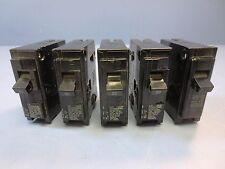 Lot of 5 I-T-E Siemens QP 1-Pole Circuit Breakers,Q120,QP1-B30,20amp x4,30amp x1