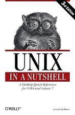 Unix in a Nutshell: System V Edition, 3rd Edition (In a Nutshell (O'Reilly)
