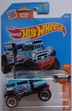 2016 Hot Wheels HW HOT TRUCKS 5/10 Bad Mudder 2 145/250 (Blue Version)