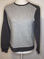 Vince Women's Two Tone Gray Sweatshirt Size XL