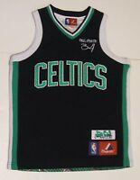 2a6660169469 8 S Youth Majestic Paul Pierce Boston Celtics NBA Basketball Jersey Black  EUC