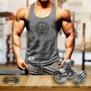 Arnold Classic Vest Gym Clothing Bodybuilding Training Workout MMA Men Tank Top