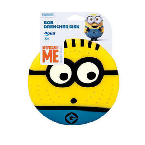 Brand New Despicable Me Minions Bob Drencher Disk - 5 inch New In Package