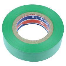 19mm X 20m de aislamiento de PVC verde de cinta eléctrica ignífugo