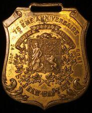 CANADA Quebec 1909 75th Anniversary St Jean Baptiste Charlton 2865-10-1 Inv 4776