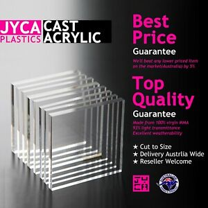 CLEAR Acrylic Perspex Sheet【1-10mm thick】【Up to 20% OFF】【BEST Price】FREE POST