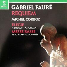 Faure Requiem Corboz Elegie Lodeon Jordan Messe Basse Alain Sourisse