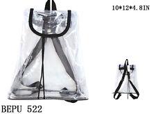 Stylish Clear Bag  Strap Backpack Tote -BEPU 522