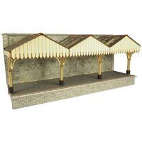 Walled Backed Platform Canopy - OO/HO Card kit – Metcalfe PO341 - Free Post