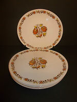 6 x Wood & Sons Ironstone Birkdale Oval Side Tea Sandwich Cake Plates - Lovely