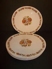 6 x WOOD & SONS IRONSTONE BIRKDALE ovale lato Tè Torta Sandwich Piastre-BELLA