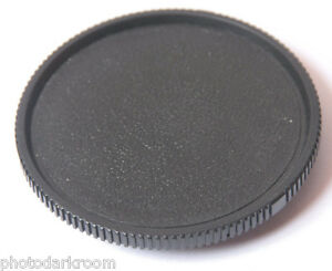 Leica R 3-Tab Bayonet 14103 Body Cap - Black Plastic Leitz Wetzlar - USED C227