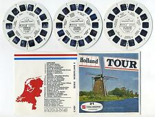 Holland TOUR Netherlands RARE 1973 MINT ViewMaster Packet C-401 Multi Language