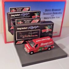 Doug Herbert 2006 Crown Premiums Snap-On 1/43 Van with NHRA Merchandise Diorama