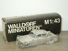 Opel Rekord Limousine - Walldorf Miniaturen Unbuilt Metal Kit 1:43 in Box *42140