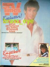TV Times Sylvester Stallone Engelbert Humperdinck Debbie Greenwood