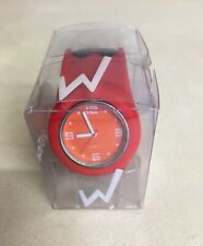 Wackisnapz Silicone Snap Bands Slap Bracelet Band Slap On Watch Red