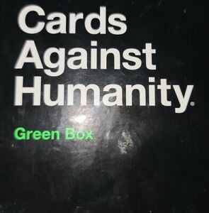 Cards Against Humanity Green Box Expansion to Cards Against Humanity set