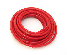 "☆ Helix Red Polyurethane Motorcycle Fuel Line • 3/16"" (5mm) SOLD BY THE FOOT ☆"
