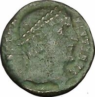 CONSTANTINE I the GREAT Ancient Roman Coin Military Camp gate  i40367