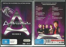ANDROMEDA SEASON 3 BY GENE RODDENBERRY DIGITALLY REMASTERED GREAT NEW 6 DVD SET